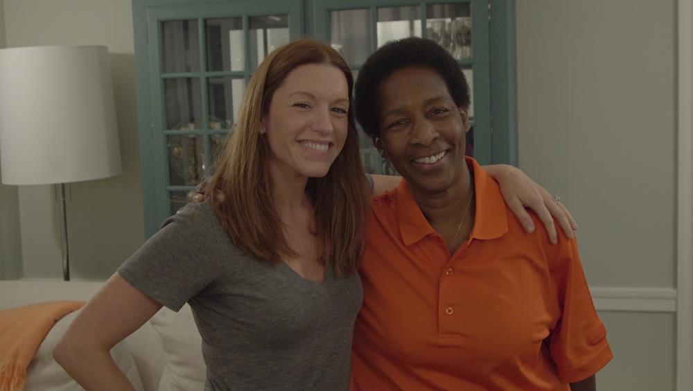 Amanda Lukoff and Loretta Claiborne