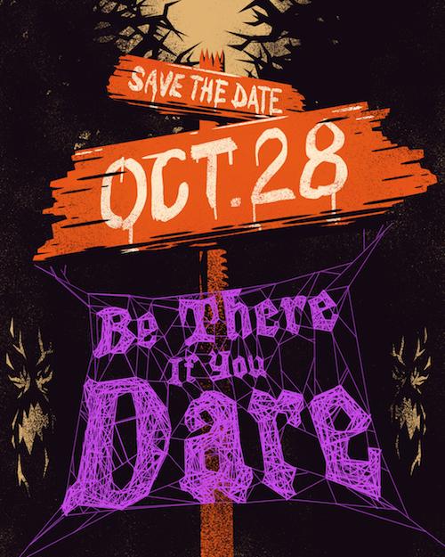 viacom halloween invite — ROB CERRATO