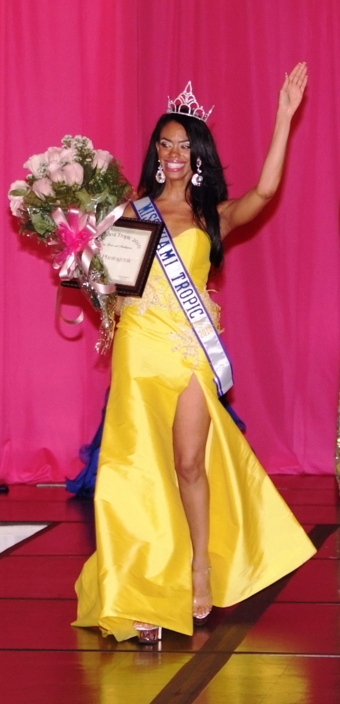 Denisse R. Pascual    Miss Miami Tropic 2010