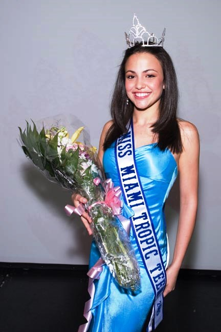 Catalina Arango    Miss Miami Tropic Jr.Teen 2005