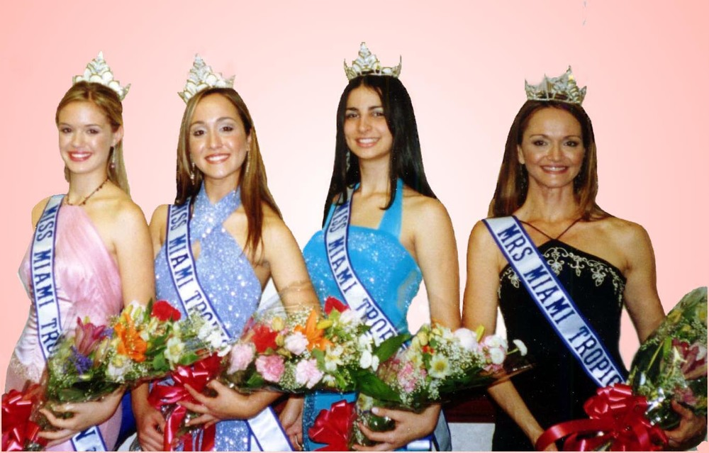 The Miss Miami Tropic Queens of 2004