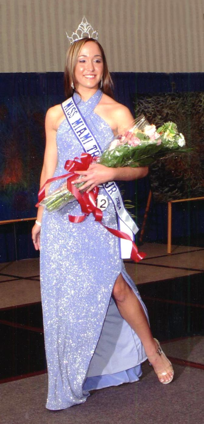 Alexandra Montesino    Miss Miami Tropic Teen 2004