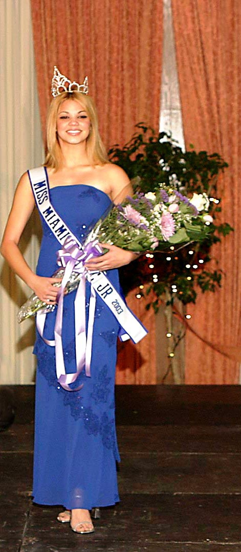 Damaris Aguiar    Miss Miami Tropic Teen 2003