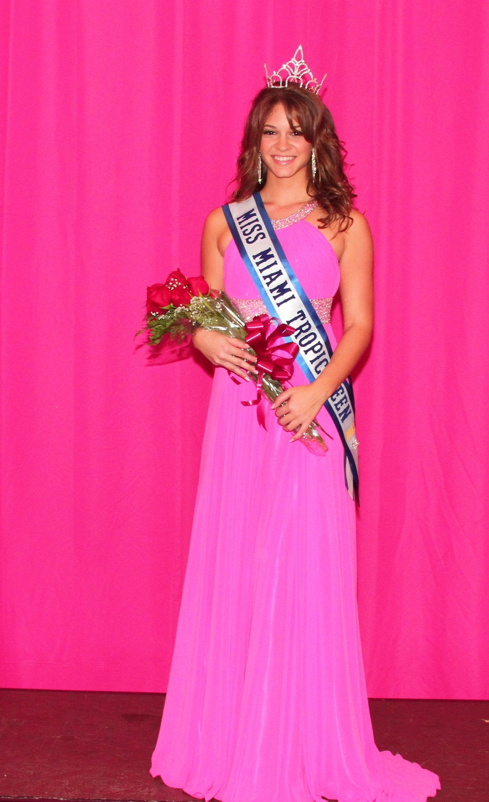 Lorena Bencomo Miss Miami Tropic Teen 2012