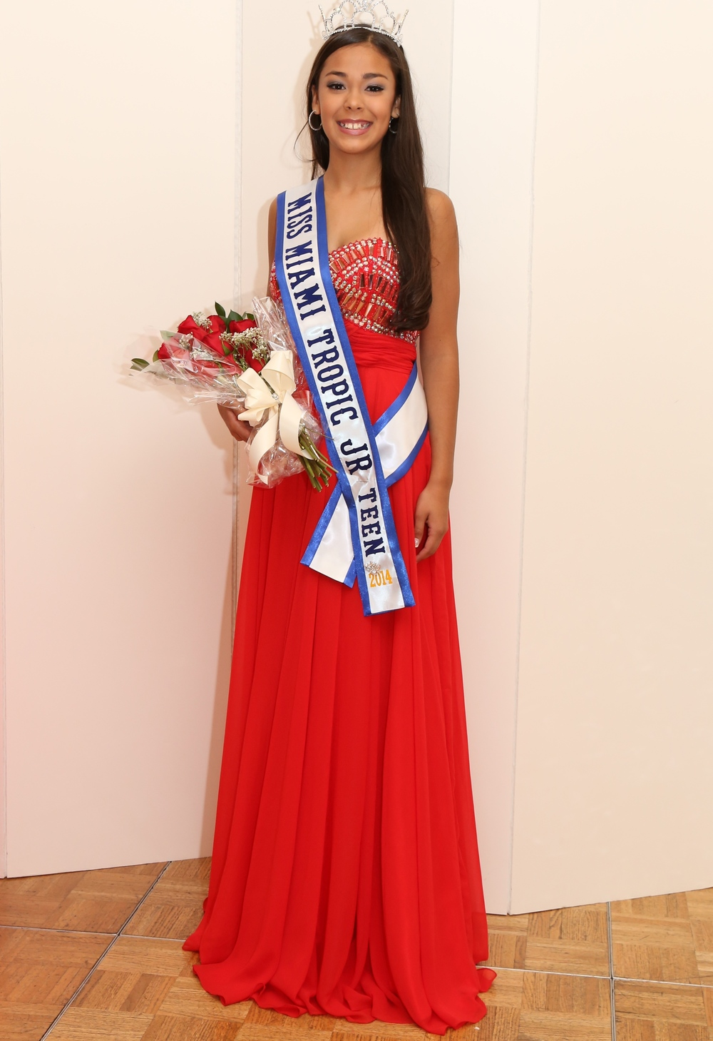 Nathaly Pinzon    Miss Miami Tropic Jr. Teen