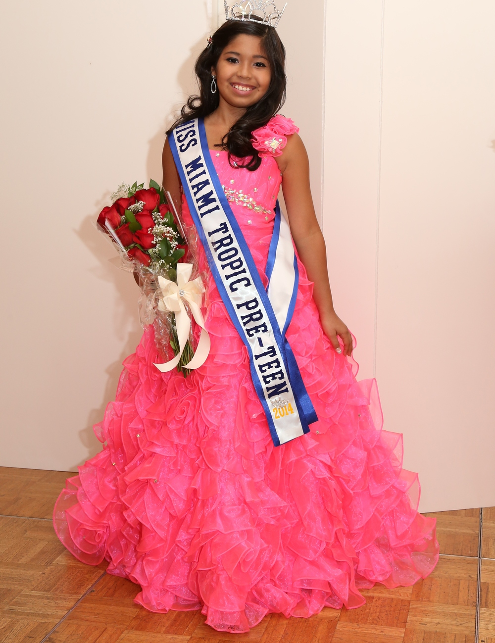 Brianna Vacva   Miss Miami Tropic Pre-Teen