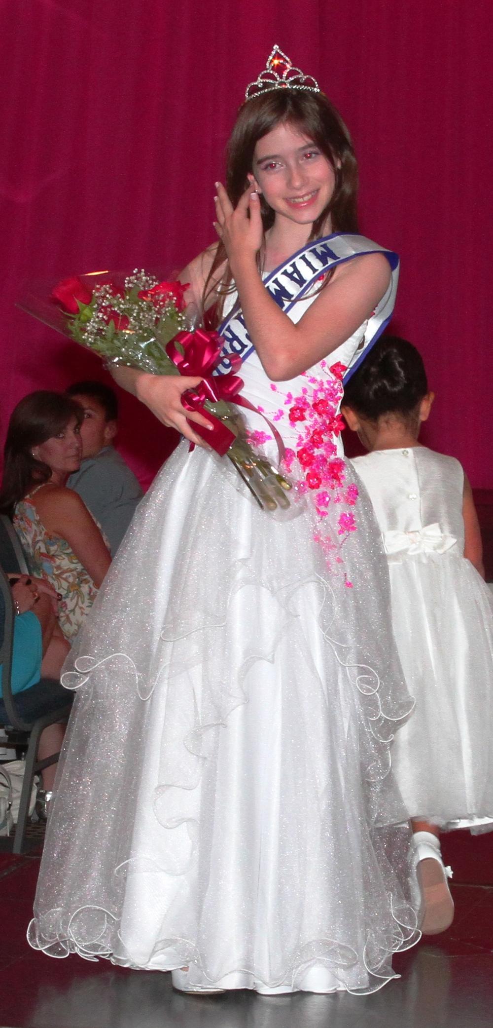 Paulina Tein miss Miami Tropic Princess 2013