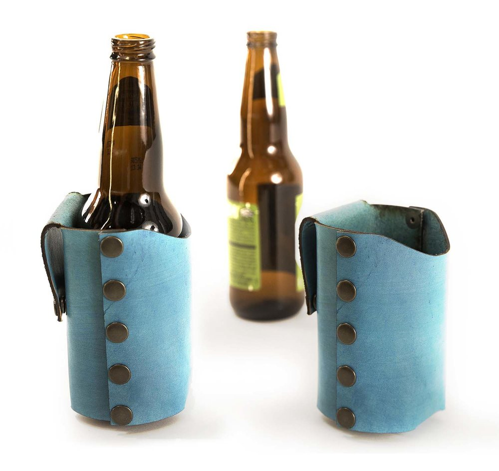 Single-bottle Holster, leather