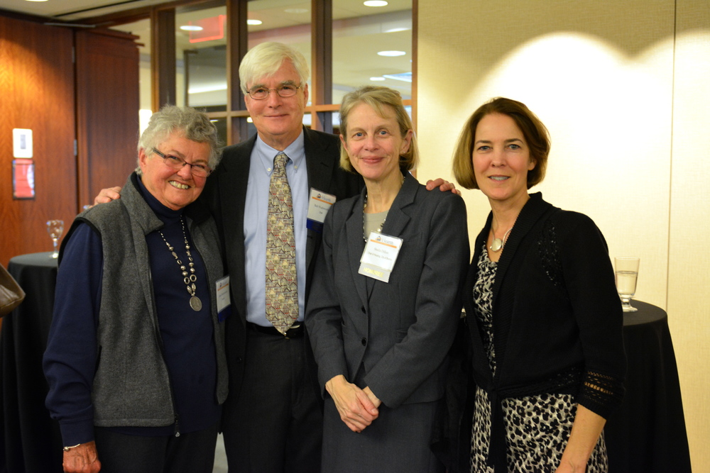 Anna Bissonnette, with Bob Wadsworth, Sheila Dillon, and Lisa Alberghini