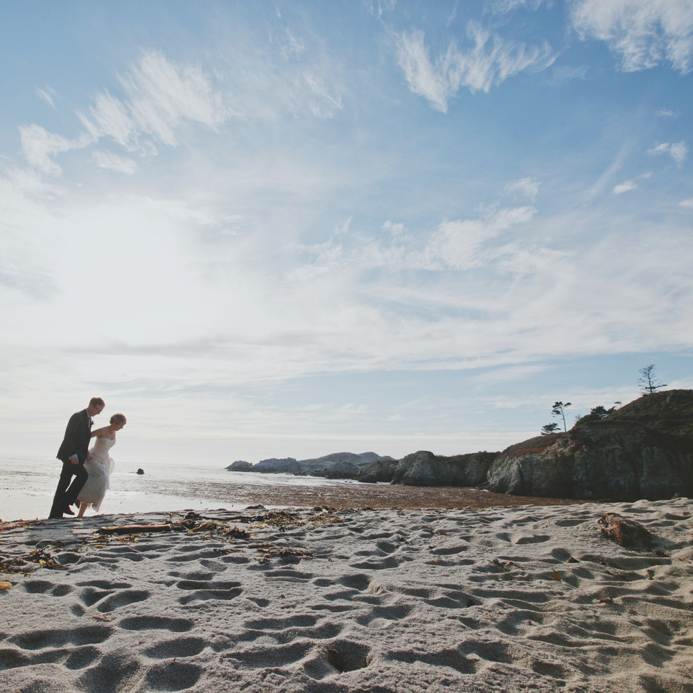 MONTEREY CALIFORNIA BEACH WEDDING
