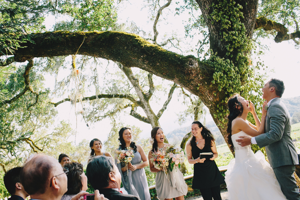Wedding at Beltane Ranch, Sonoma, CA