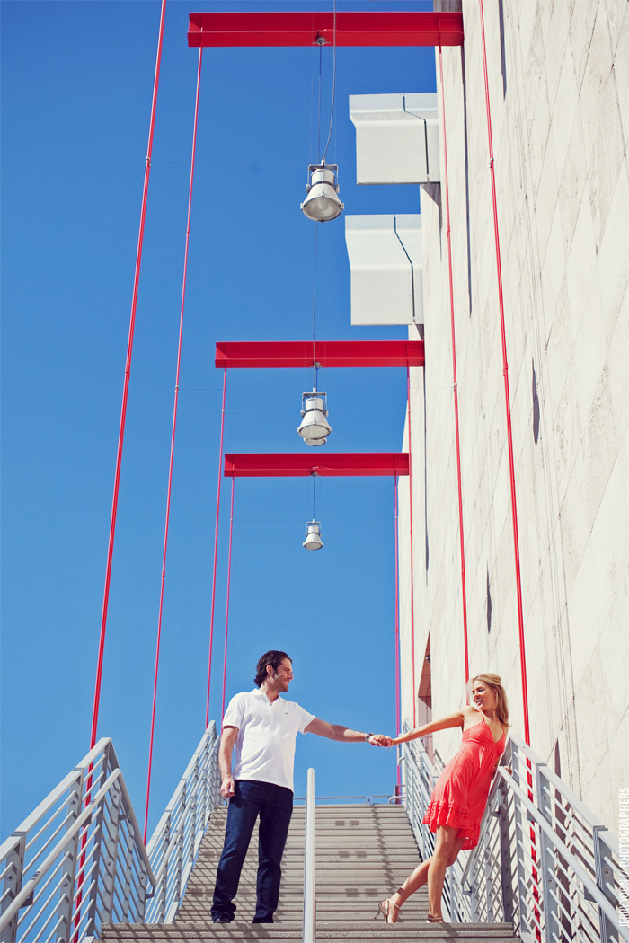 Modern Los Angeles Engagement Photographer