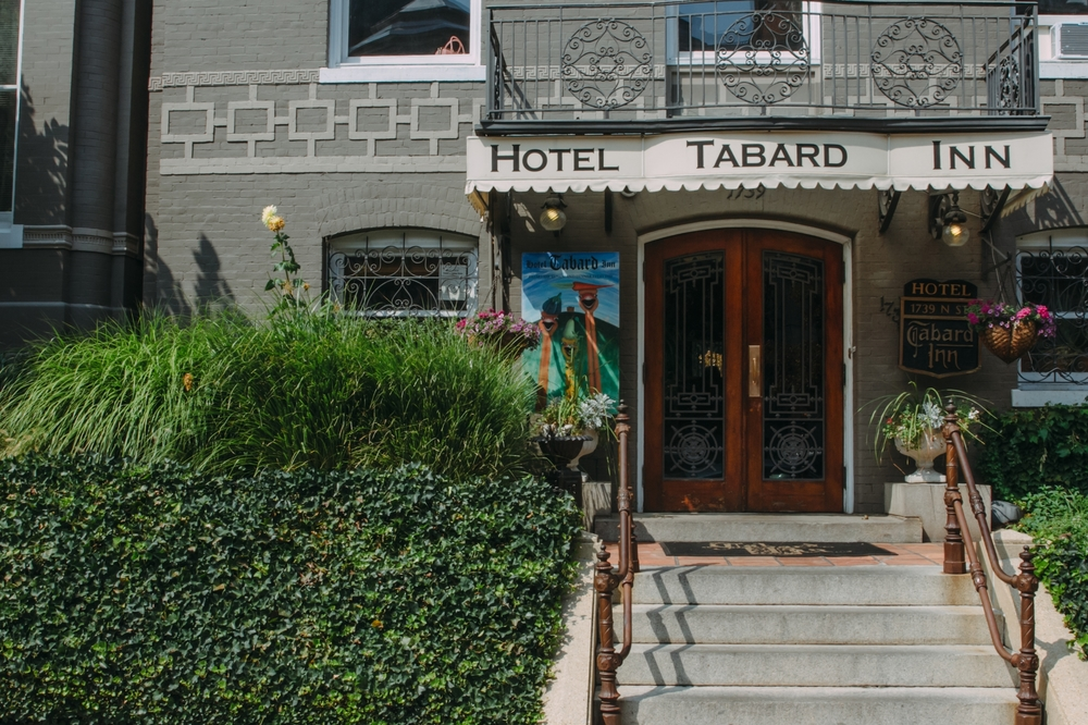 We picked the Tabard Inn because of its storied history and antique decor
