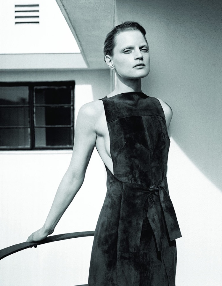 Guinevere Van Seenus; makeup artist and model