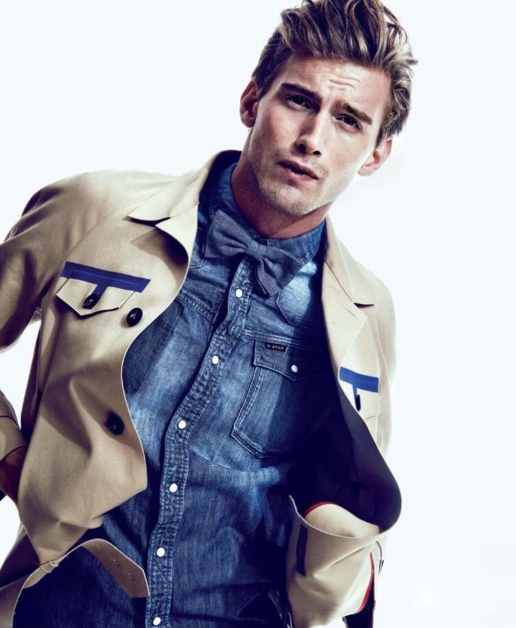 RJ King; model