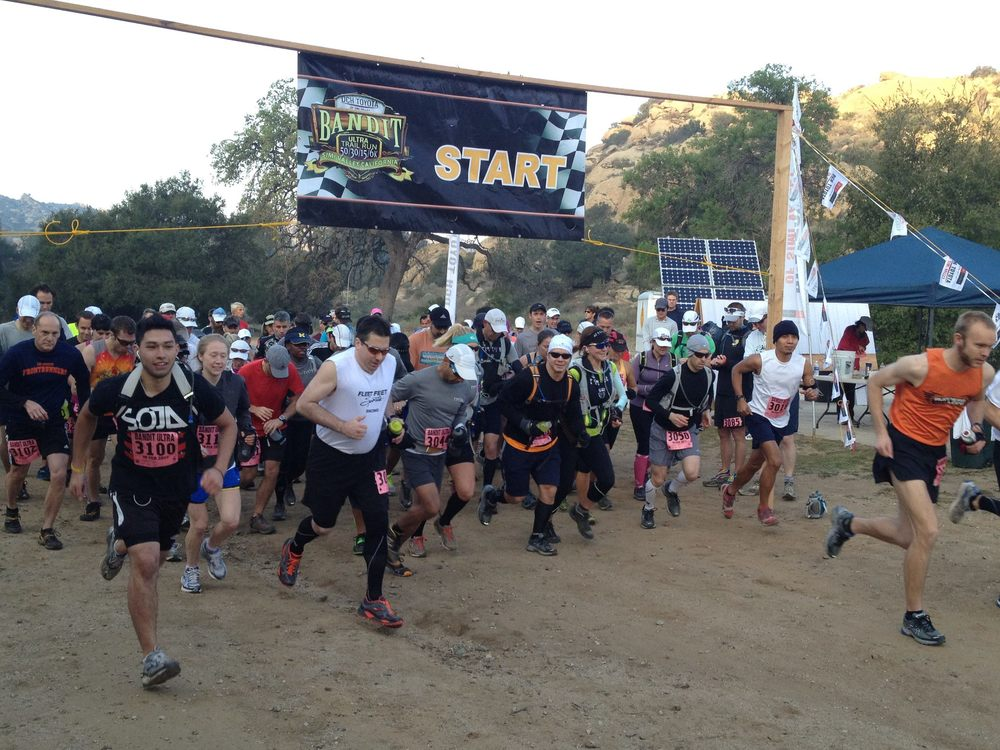 Bandit Trail Run Start