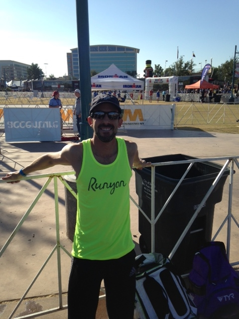 TJ Nuccio, my friend and Fortius Coaching teammate, sent me a care package of Runyon Canyon apparel to enjoy for the weekend. I was pleased to be able to wear a comfy tank top in the middle of November!