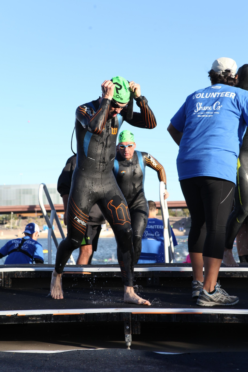 Absolutely love my custom BlueSeventy Helix wetsuit. It fits super snugly and doesn't restrain my shoulders.