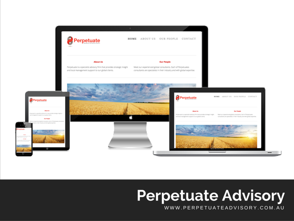 Perpetuateadvisory.com.au Website built by Digital Pollinators
