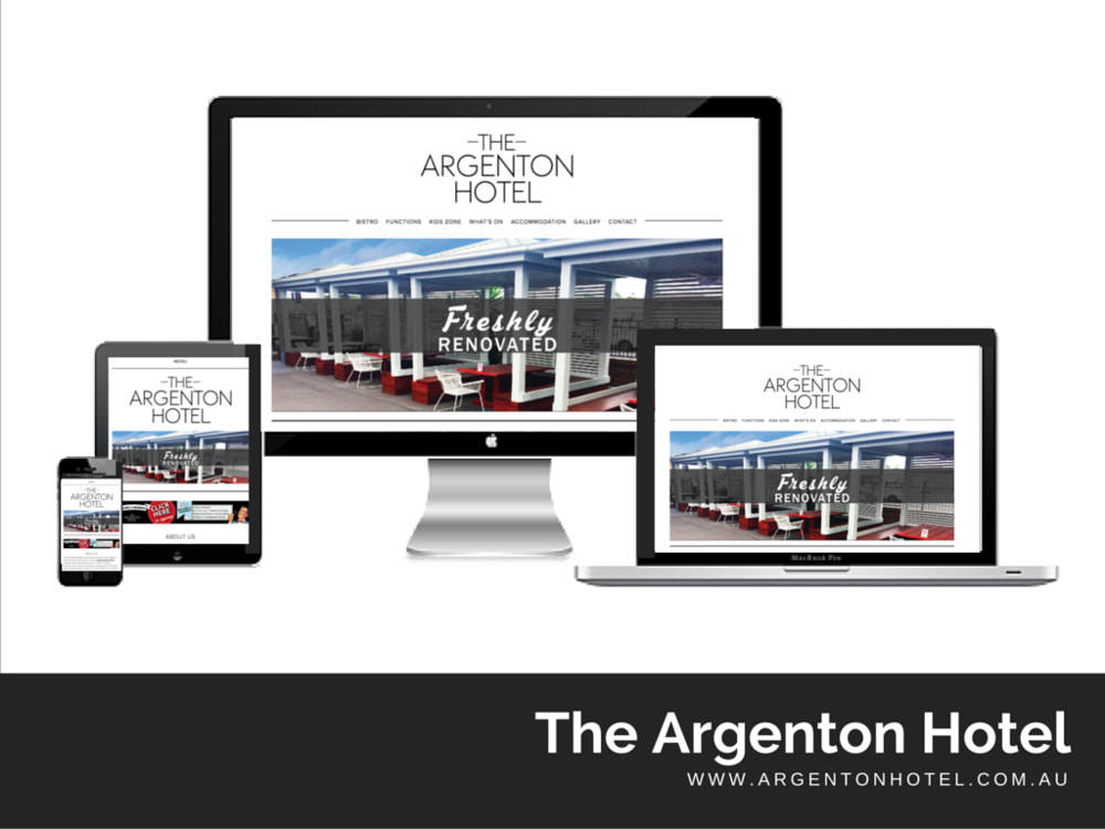 The Argenton Hotel Website built by Digital Pollinators