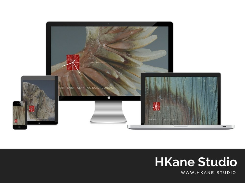 Hkane.studio Website built by Digital Pollinators