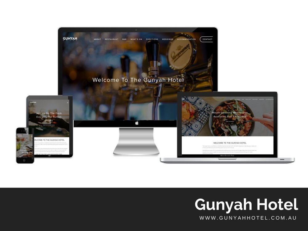 GunyahHotel.com.au Website built by Digital Pollinators