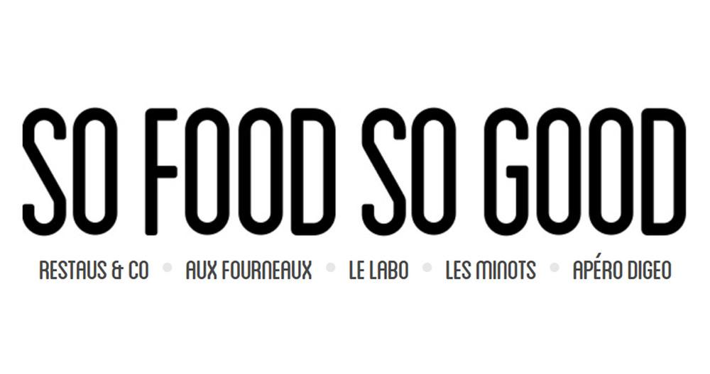 article blog SO FOOD SO GOOD
