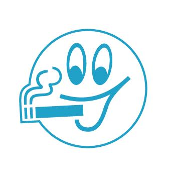 Une attention pour les fumeurs  contraints de fumer à l'extérieur des établissements. La tablette leur apporte le  confort d'un cendrier  et d'une petite table sur laquelle s'accouder.