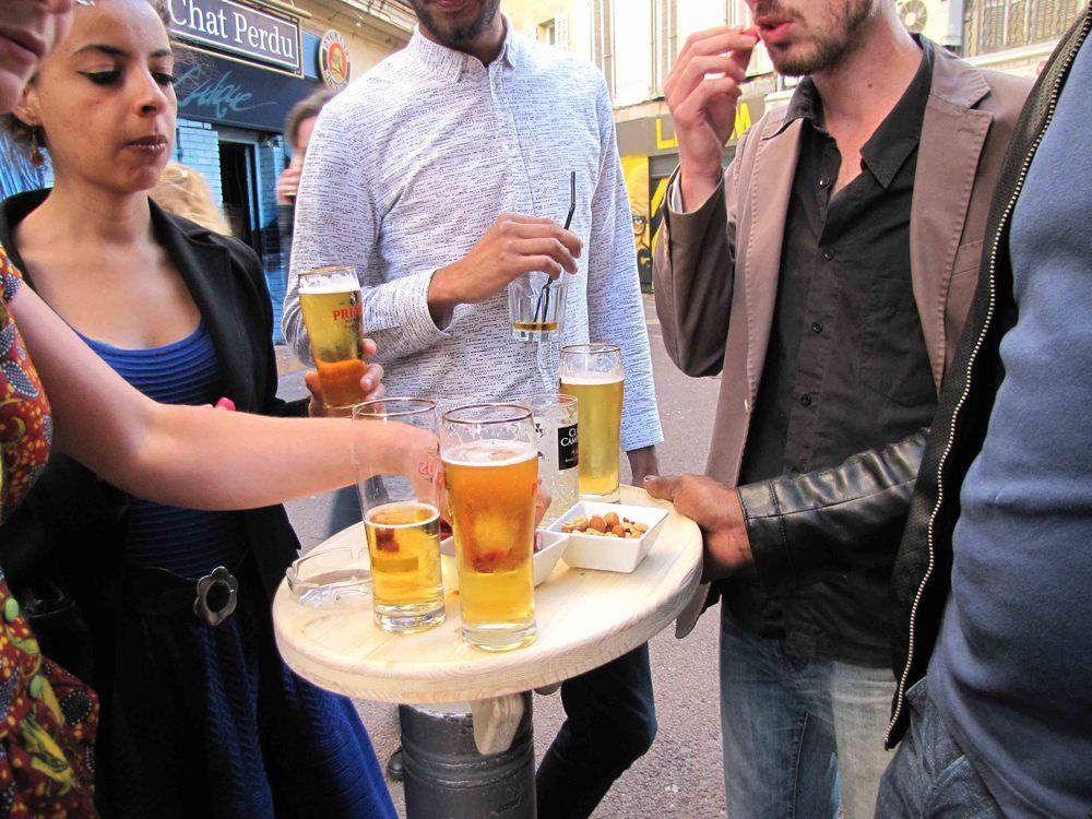 Terrasse amovible poTo pour bar, restaurant