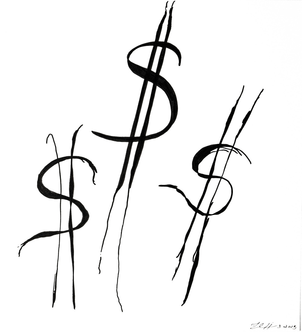Strange Dollar Signs
