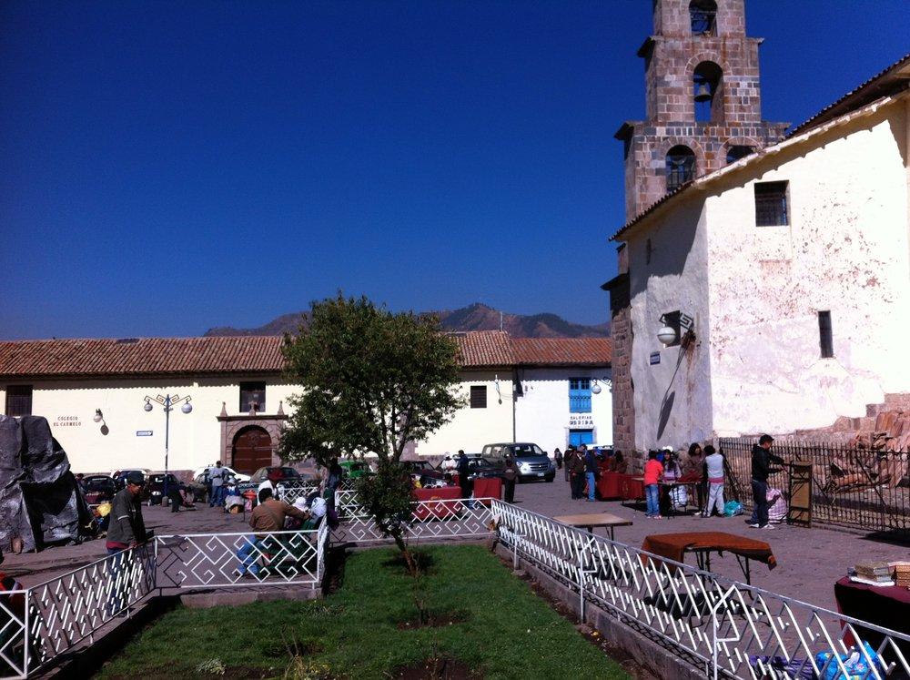 San Blas market square,Cusco
