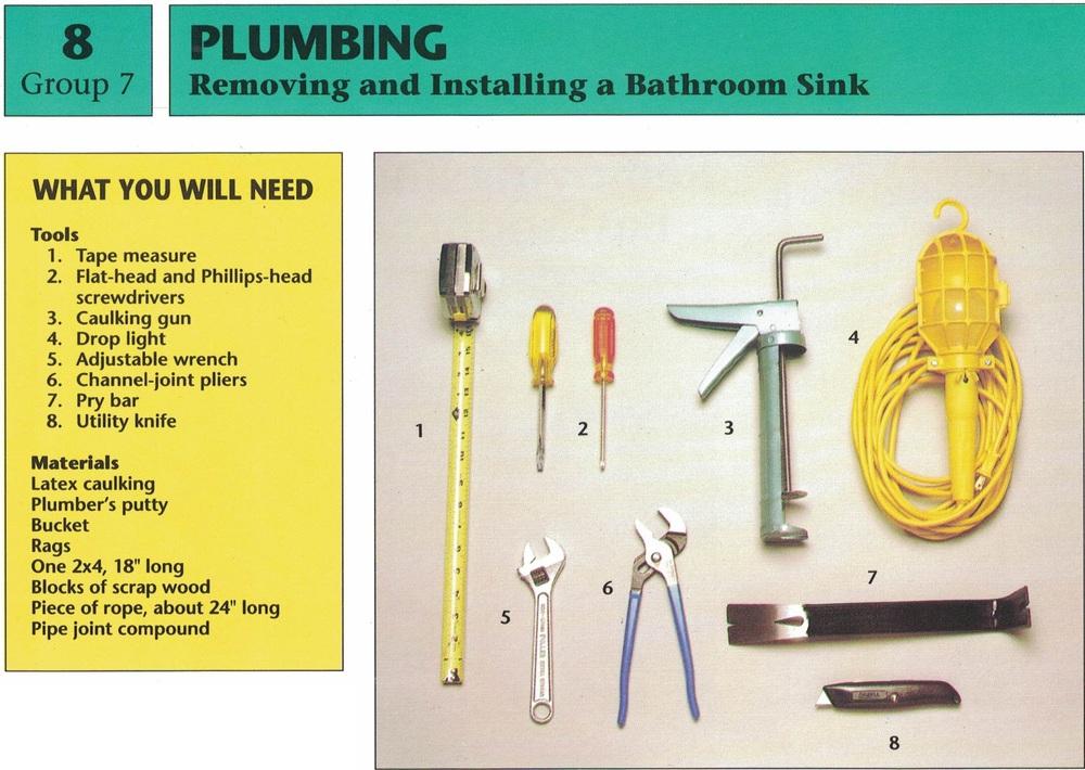 Plumbing - Installing a Bathroom Sink