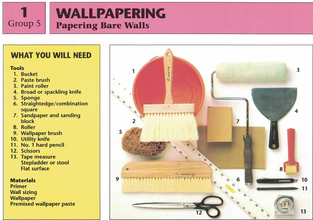 Papering Bare Walls