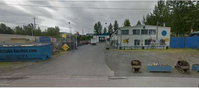 AK MLS# 15-14571 940 E 1st Avenue Anchorage, AK 99501 Commercial Lease Industrial Warehouse and Offices near Railroad, Port, JBER and downtown. 3 bay doors, 2 shops, kitchen, multiple offices, 1600sf+ semi heated shop with 18' doors, Multiple connexes on site for cold storage. 8' security fencing. 3 phase service to building.