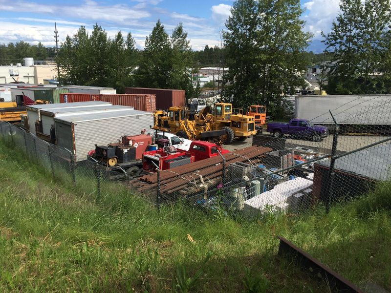 AK MLS# 15-14572   920 E 1st Avenue Anchorage, AK 99501  Commercial Lease  I2 Zoned lot near bases, downtown, port and railroad.  Owner may include connexes, quonset hut, and other storage or office buildings.