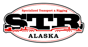 For all heavy equipment moves Grubstake recommends STR to haul safely and economically - they have access to our yard 24/7!  Contact them at 907-222-2750