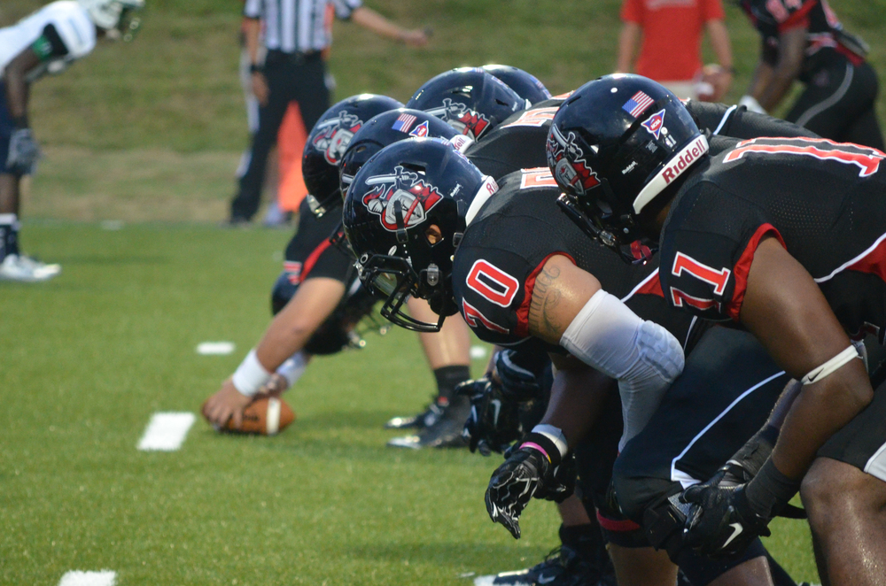 The NGU Crusaders played their first game on the new artificial turf last week.