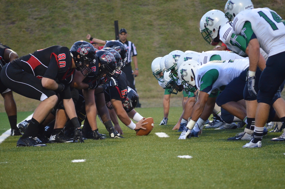 The Crusaders and Ave Maria know it's game time as they brace for impact