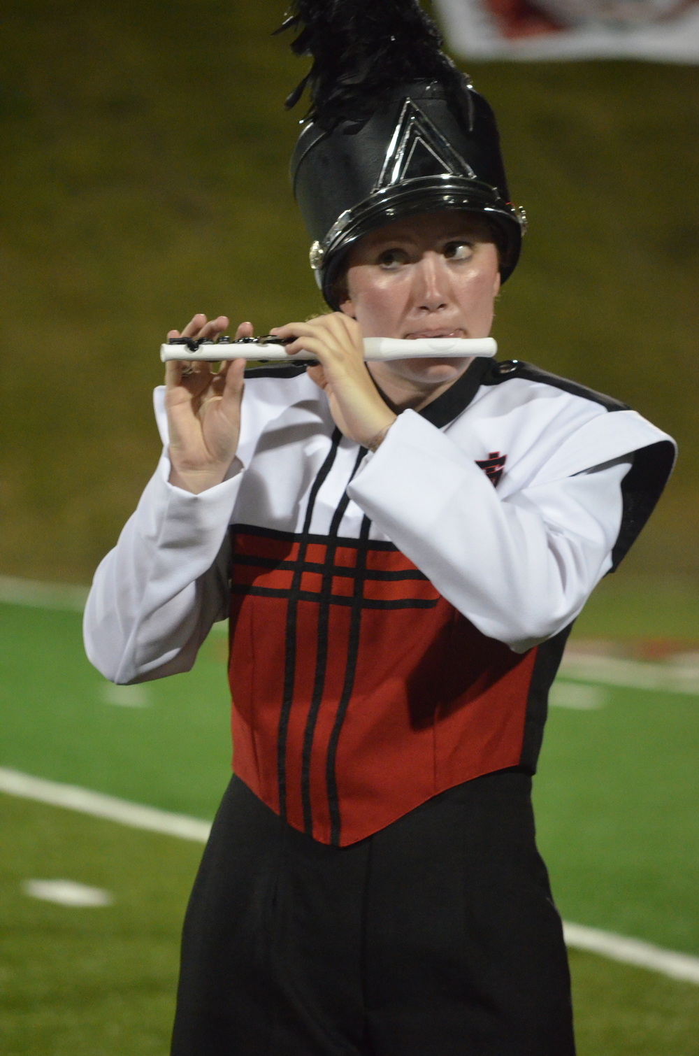 Flute players may have a small instrument, but they hold the band together