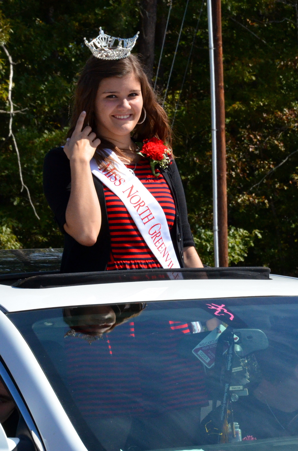 2014 Miss NGU, Megan Lindler, is fist in the line up.