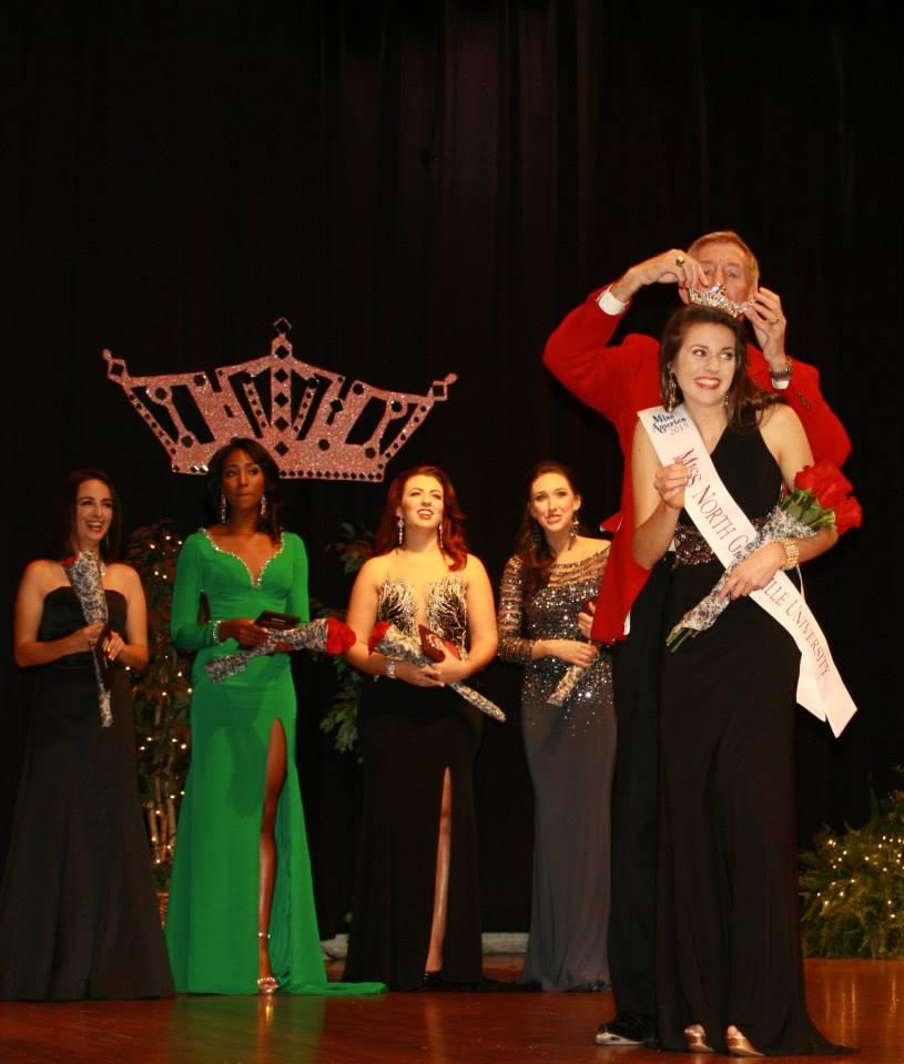 Samantha Monteith is crowned Miss NGU 2015.
