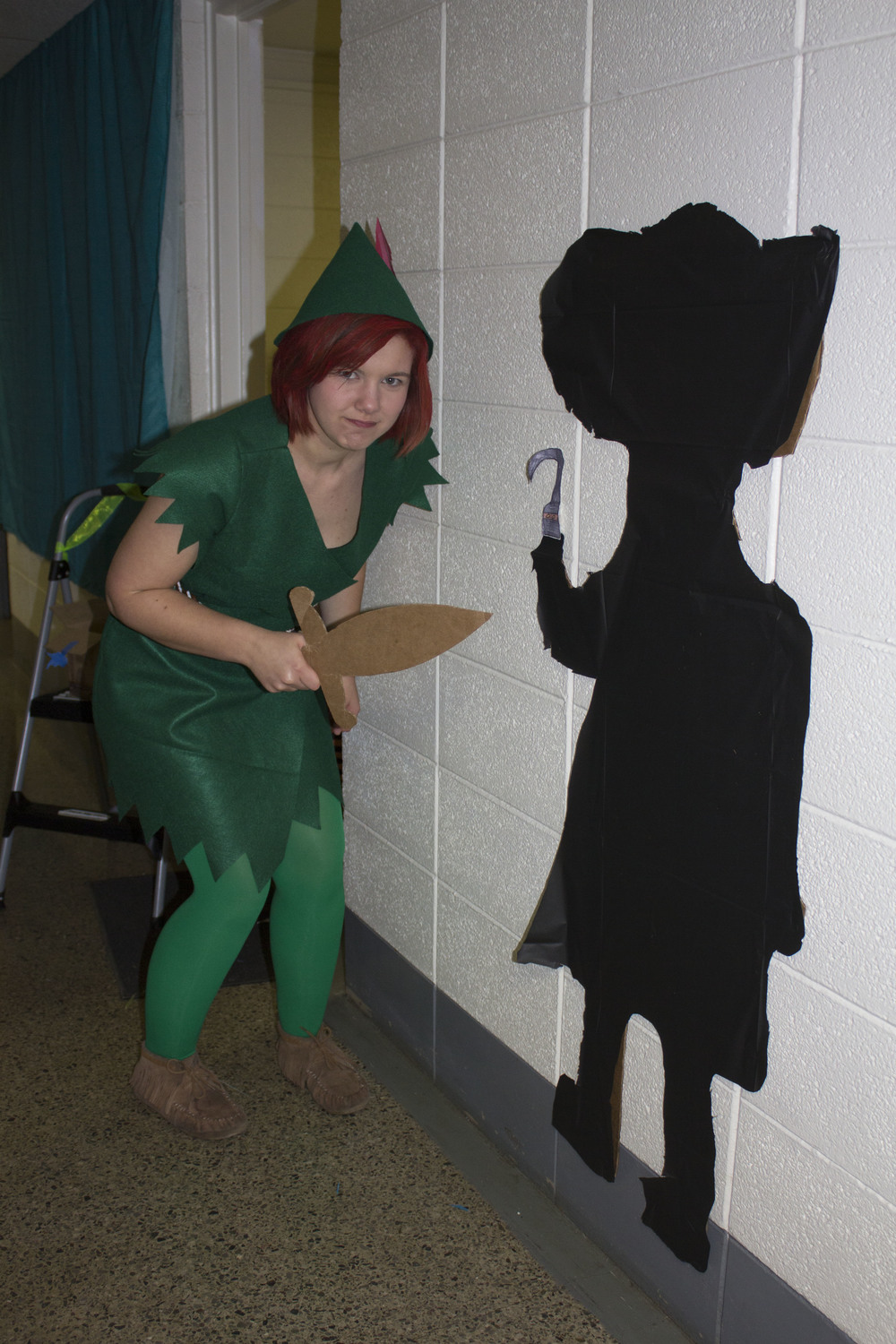 Sophomore Sela Estelle also finds her rival Captain Hook she squares off with.