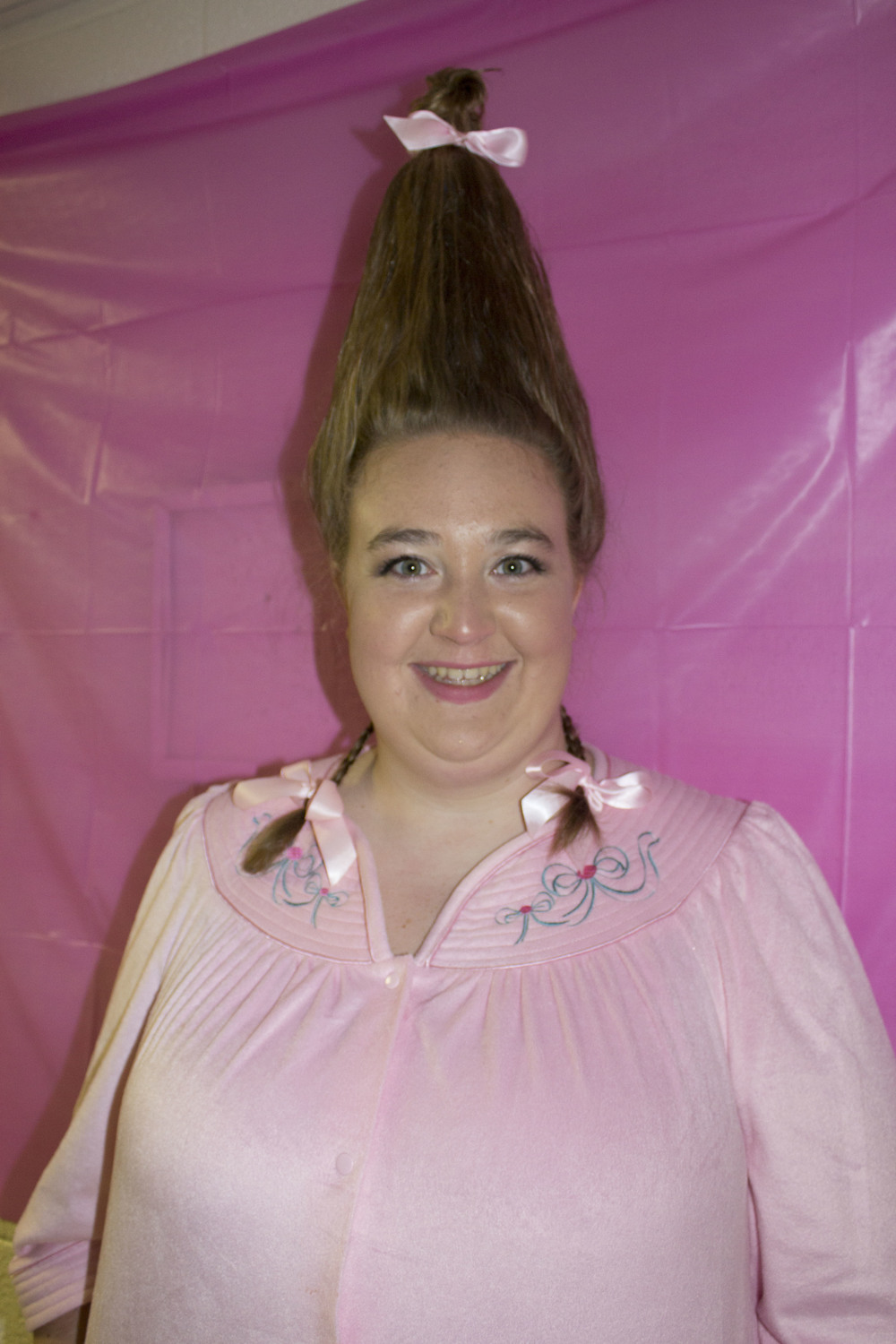 Sophomore Sarah Howard creatively dressed up as Cindy Lou Who.