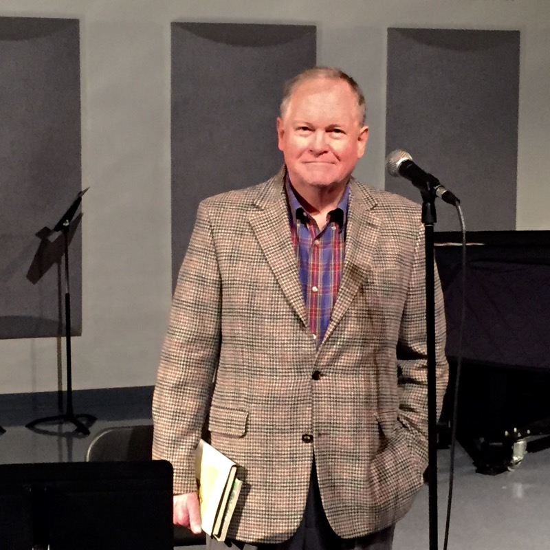 Robert R. Morgan, American writer and award winning novelist is at NGU today to speak to a group of students about Appalachian literature and musical poetry.