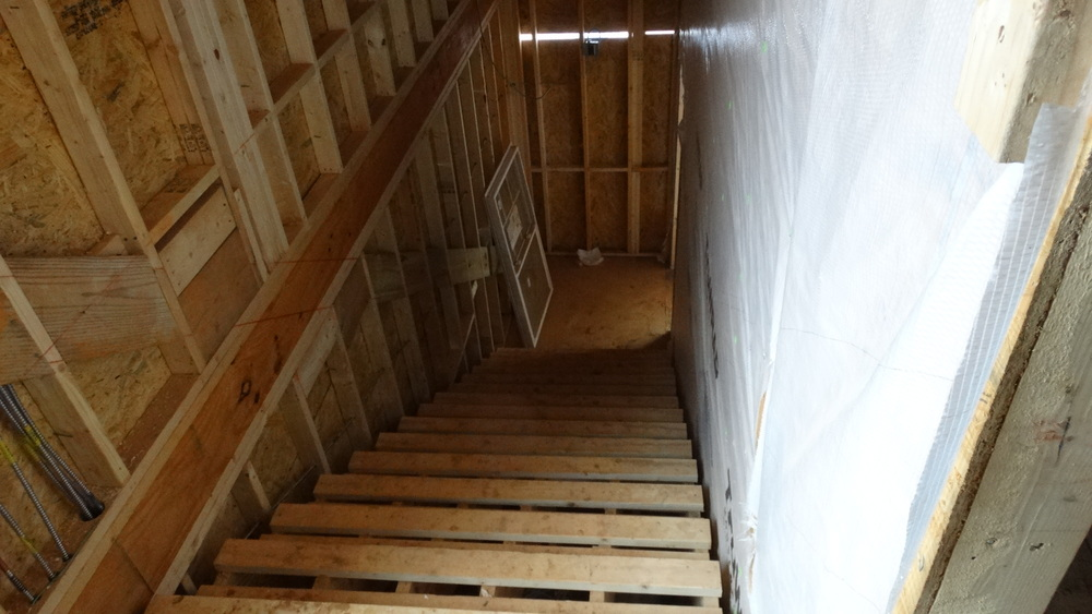 Stairs will provide a way for students to get upstairs to enjoy their food or take a nice study break.