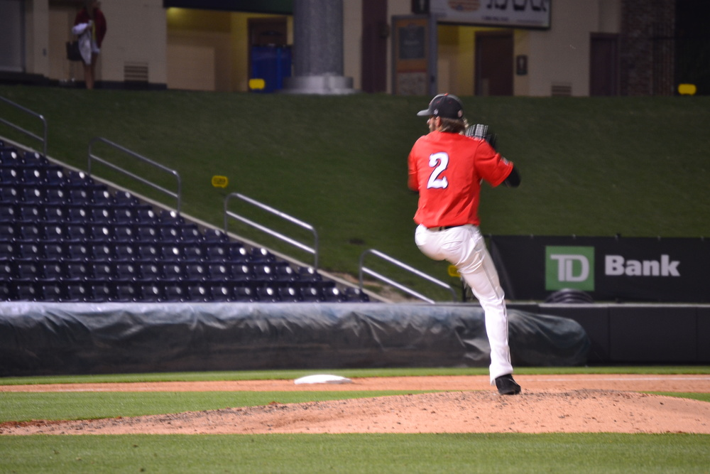 Stewart Hunt, from Rock Hill, S.C., goes into the gameas a pitcher for NGU to help bring them to their 14-11 victory.