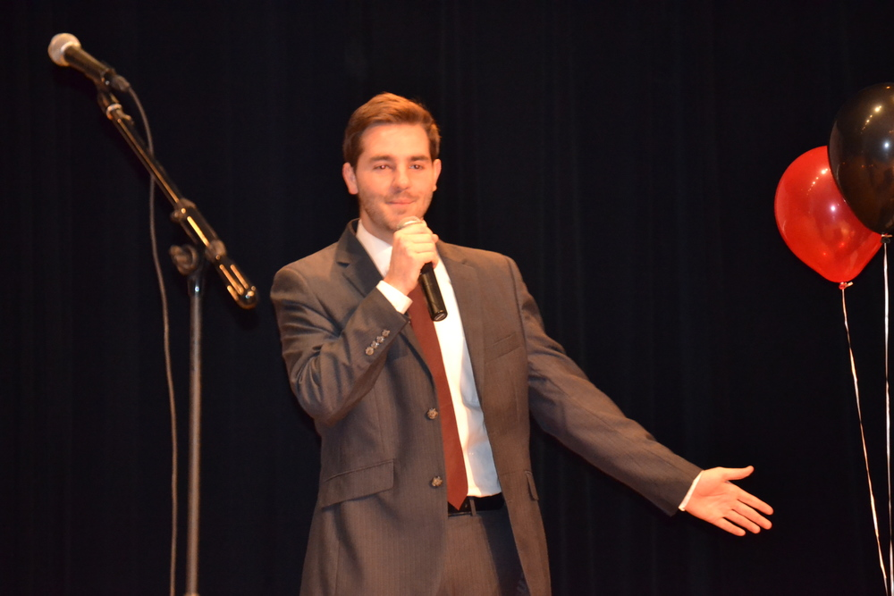 Drew Norris, our Student Government President, hosted NGU Got Talent and kept the audience entertained between each act.