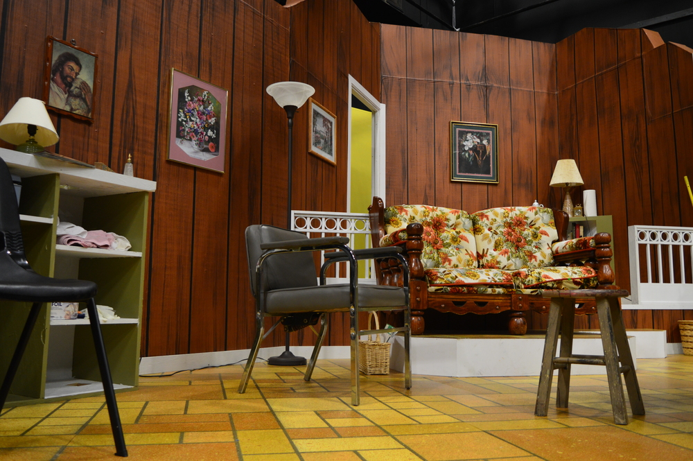 Beauty parlor set from  Steel Magnolias