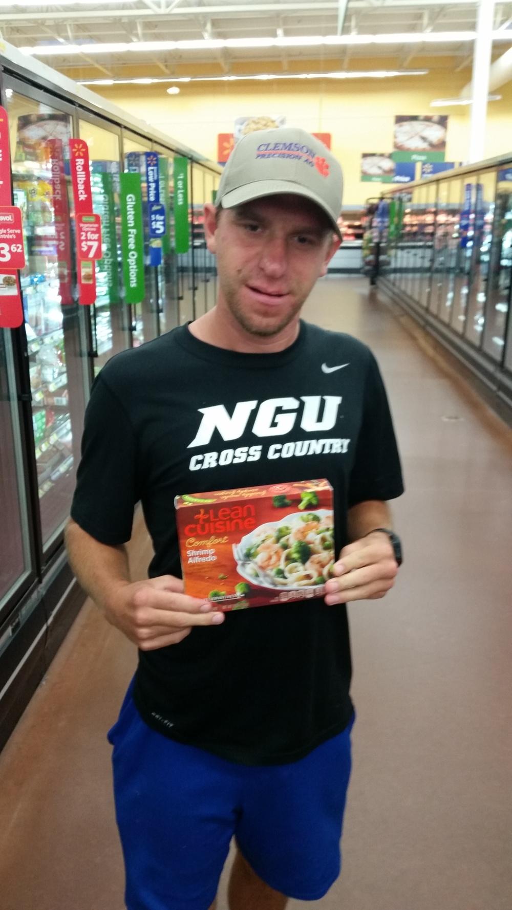 Russell Webb enjoys Lean Cuisine
