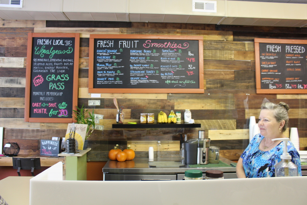 Owner, Joyce Bridges took over TReats in downtown Travelers Rest one month ago after the previous owners had to move.